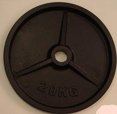 Gusshantelscheibe 52mm 20,0 kg