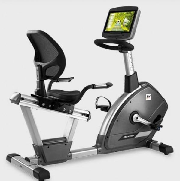 "BH Fitness LK7750 H775TVC 16"" Full-HD Monitor Professioneller Liege-Ergometer"