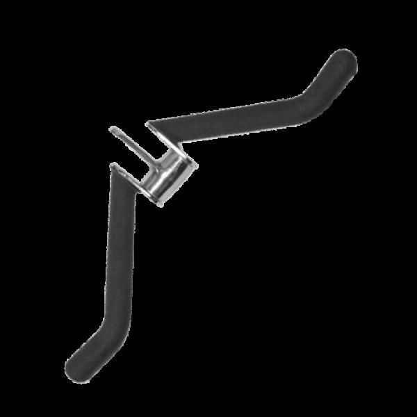 Bizeps-/ Trizepsgriff, gebogen, mit ausbalanciertem Drehgelenk