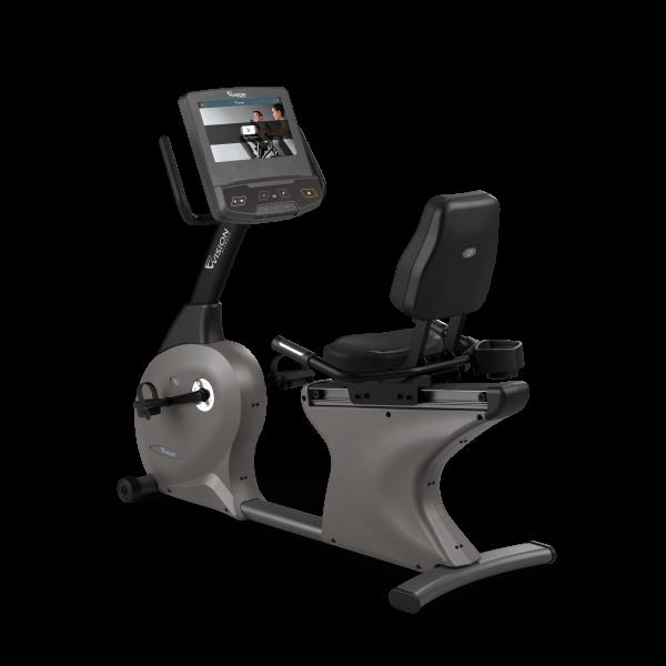 Vision Fitness R600E Halbliege-Ergometer