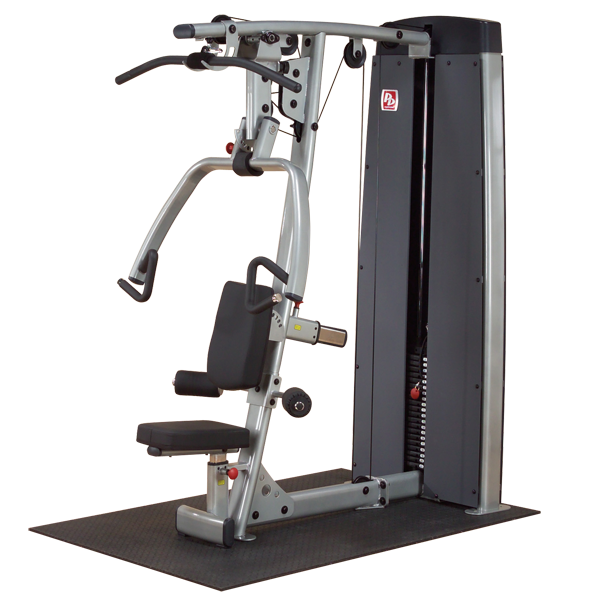 Body-Solid Pro Dual Press-Arm-Station (Gewichtsblock 140 kg)
