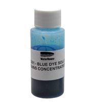 Blaue Wasserfarbe