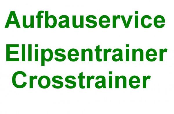 Aufbauservice Ellipsentrainer / Crosstrainer in Deutschland