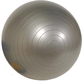 Gymnastikball 55cm Silber