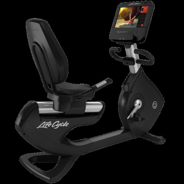 Life Fitness PCS Liegeergometer mit Discover SE3HD Konsole inkl. Matte, Pulsuhr (Aufbau kostenlos mö
