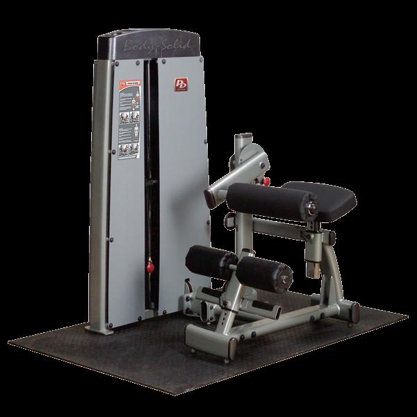Body-Solid Pro Dual Bauch- und Rückenmaschine DABB Gewichtsblock 100 kg