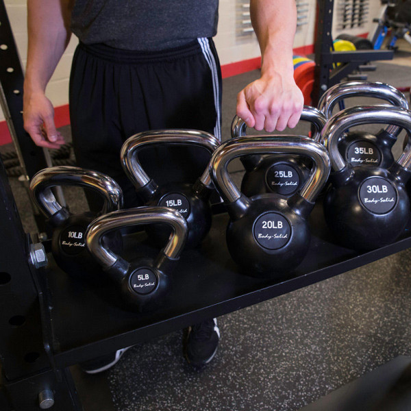 Body-Solid Anbauoption Kettlebell Tray