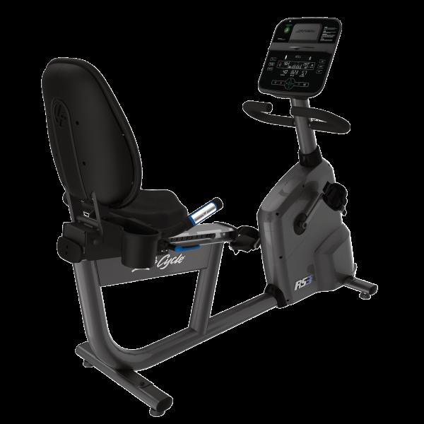 Life Fitness Liegeergometer RS3 mit Track Connect Konsole inkl. Pulsbrustgurt Ausstellungsgerät