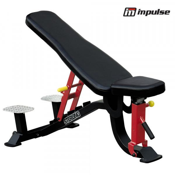 IMPULSE FITNESS FID Bench mit Helfer-Plattform SL7012