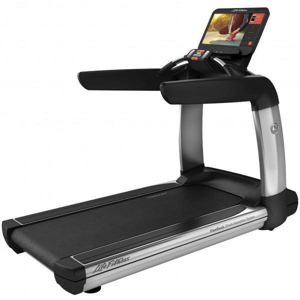 Life Fitness Laufband mit Discover SE3HD Konsole inkl. Matte (Aufbau kostenlos möglich)