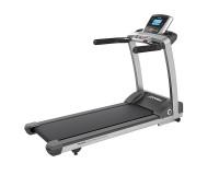 Life Fitness Laufband T3 mit Go Konsole inkl. Bodenschutzmatte und Pulsbrustgurt