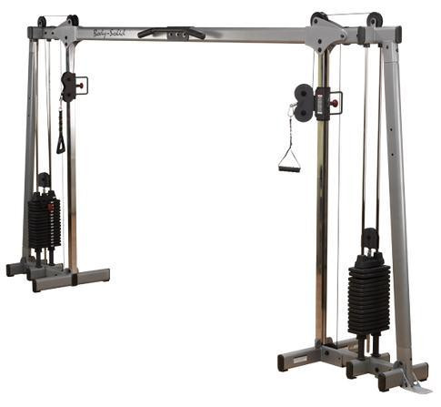 Body-Solid Pro Dual Cable Crossover (2x95 kg)