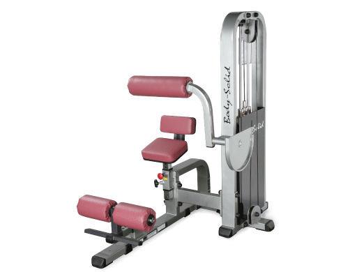 Body-Solid Bauch-Maschine mit 95kg Gewichtspaket