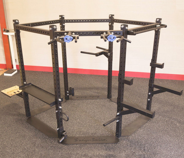 Body-Solid Short Rack Advanced Package 2,12m