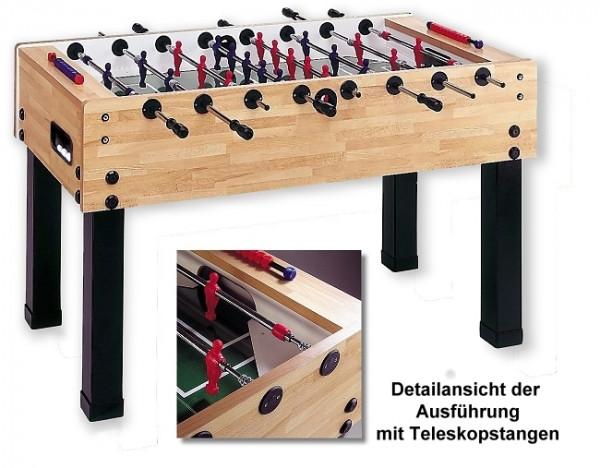 Fußballkicker G-500 Buche Sport Teleskop