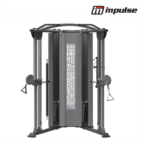 Impulse Fitness Dual Adjusttable Pulley IT9330 ( 2 x 91 kg )
