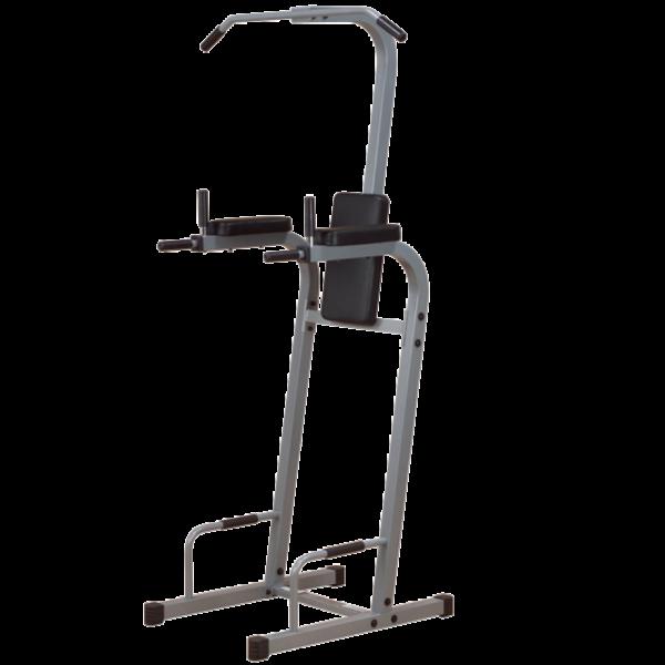 Body-Solid Powerline-Serie Kniehebe -/ Klimmzug und Dipständer PVKC-83X