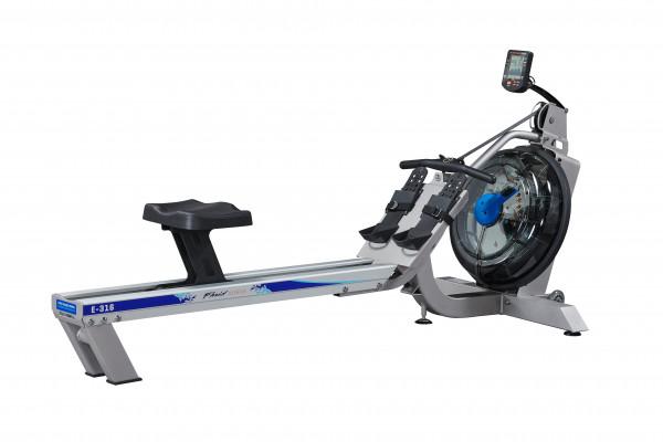 First Degree Fitness Rudergerät Fluid Rower E316 (Beltdrive)
