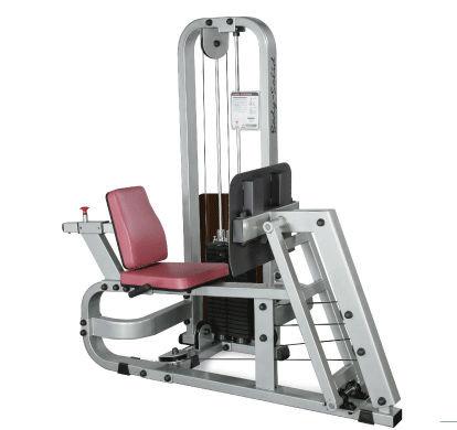 Body-Solid Beinpress-Maschine mit 140kg Gewichtspaket
