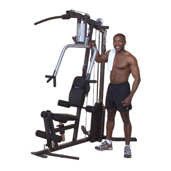 Body-Solid Ganzkörpertrainer G-3S (100kg Gewichtsblock)