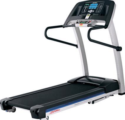 Life Fitness F1 Smart Laufband inkl. Puls-Brustgurt