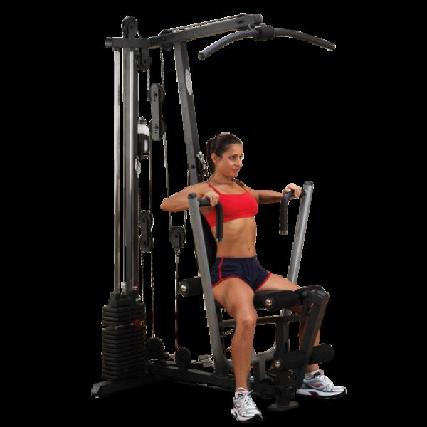 Body-Solid Ganzkörpertrainer /Home Gym G-1S (72kg Gewichtsblock)