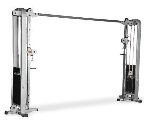 Body-Solid Pro Club Line Cable-Crossover-Maschine mit zwei 105kg Gewichtspaketen