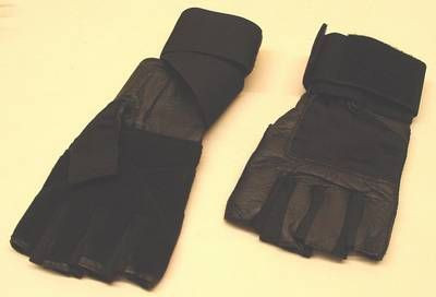 Handschuhe mit Handgelenksbandage