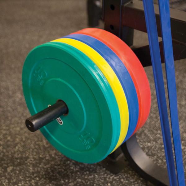 Body-Solid Anbauoption Weight Plate Horn - Scheibenhalter