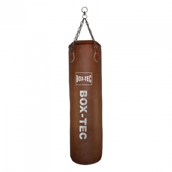 Box-Tec Boxsack Sandsack 150cm Kickboxen, Retro, gefüllt inkl. Vierpunkt-Kette