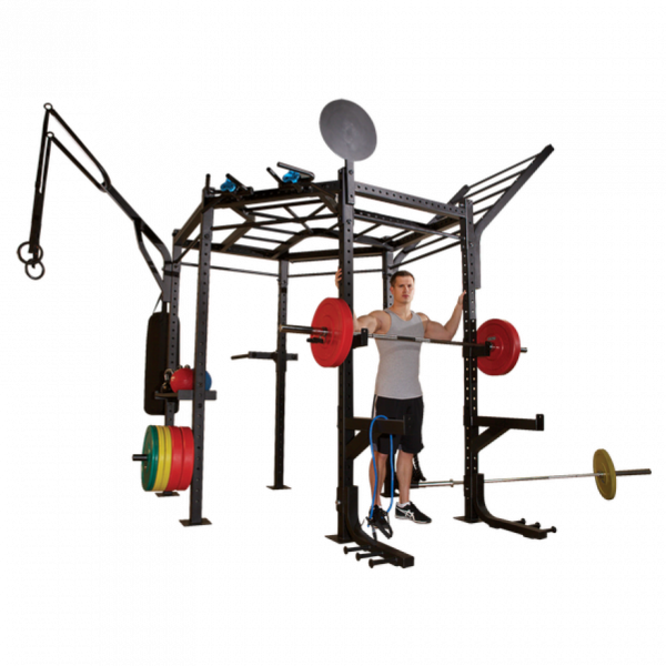 Body-Solid Tall Rack Club Package 2,52m