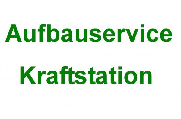 Aufbauservice Kraftstation in Deutschland