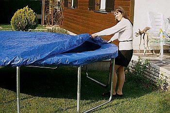 Wetterschutzhülle für Gartentrampolin Trimilin-Fun 24