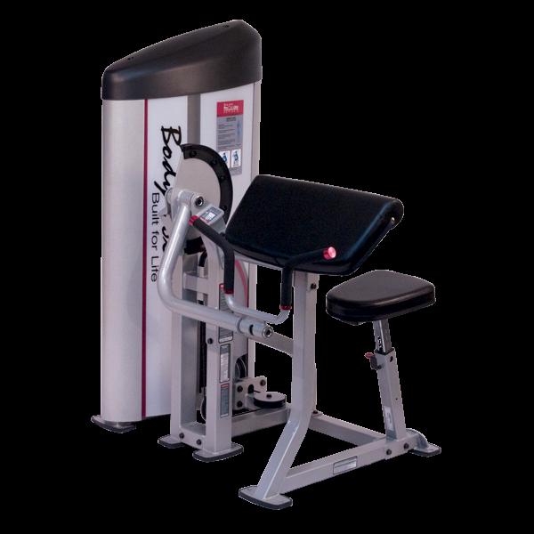 Body-Solid Pro Club S2 Bizepsmaschine S2AC (115 kg)