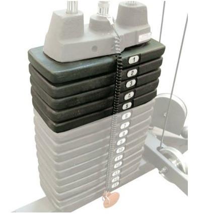 BodySolid 22,5kg Zusatz-Gewichtspaket für G-6B, G-8I, G-10B