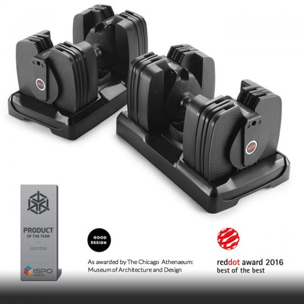 Bowflex SelectTech 560 - Paar (2,3 - 27,2 kg) Bluetooth