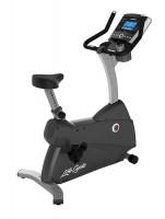 Life Fitness Ergometer C3 mit Go Konsole inkl. Bodenschutzmatte und Brustgurt